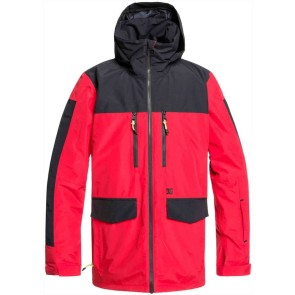 DC Company snowboard jacket racing red 45K