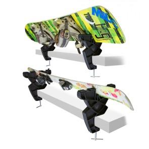 Demon ski and snowboard vise