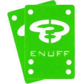 Enuff Shock pads 1 mm (zwart, groen, rose)