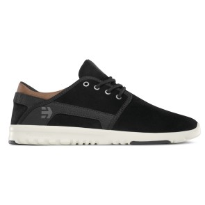 Etnies Scout lightweight shoes black-brown