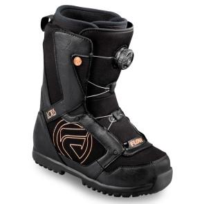 Flow Lotus BOA coiler boots black ladies