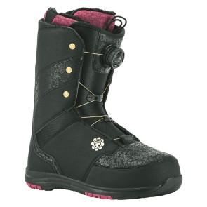 Flow Onyx BOA coiler dames snowboard boots zwart 2018