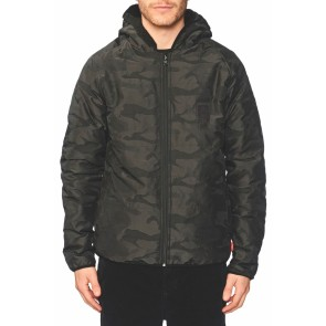 Globe Fielder Reversible Jacket black-Polartec