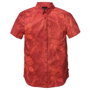 Globe Forester shirt short sleeve auburn