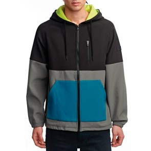 Globe Hazard hooded jacket seaspray