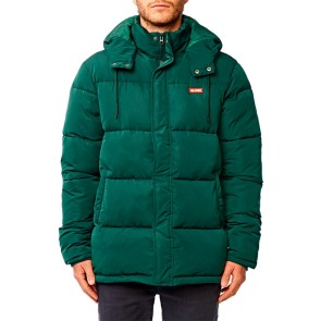 Globe Ignite puffer jacket green