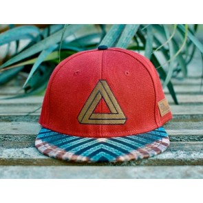 Ilusão Wild as dreams snapback red