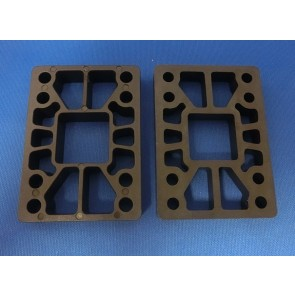 "Khiro Hard riser pads 0.5"" straight wall (set of 2)"