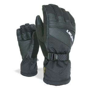 Level Patrol ski snowboard gloves black