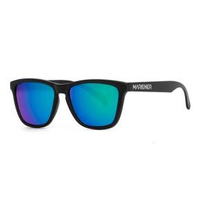 Mariener Melange zwart flexframe zonnebril (diverse lenskleuren)
