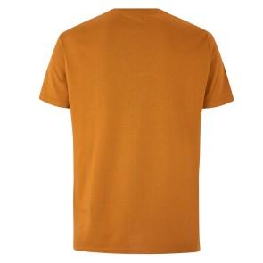 Mystic Brand t-shirt goudbruin