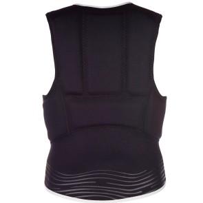 Mystic Star impact vest Fzip wake dames zwart