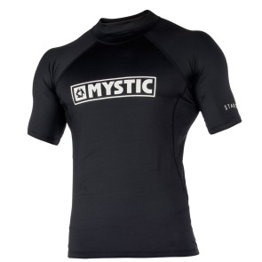 Mystic Star S/S rashguard black