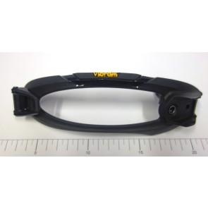 Nitro toe replacement strap Vibram with clamp black (set)