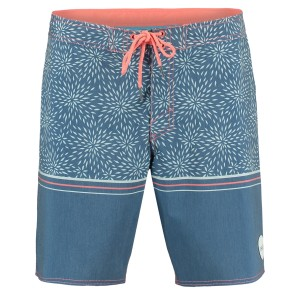 O'Neill For The Ocean boardshort blue white AOP
