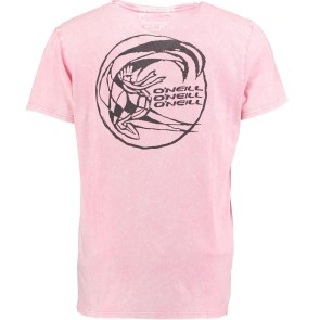 O'Neill Wave cult backdrop T-shirt popstar roze