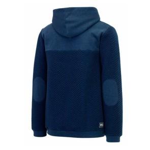 Picture Come heren hoodie met rits blauw