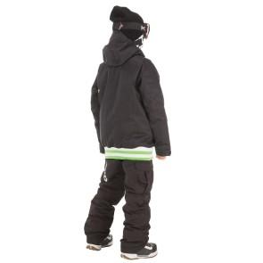 Picture Organic Park Avenue jeugd snowboardjas zwart 10K (12 jaar)