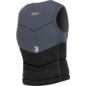 ProLimit Slider vest full padded FZ zwart grijs
