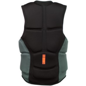 ProLimit Slider vest full padded FZ zwart-oranje
