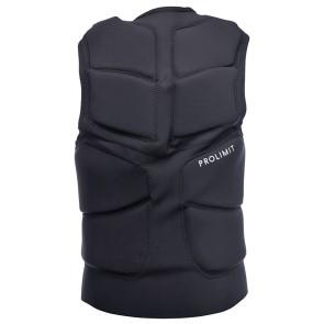 ProLimit Stretch vest full padded FZ zwart-wit