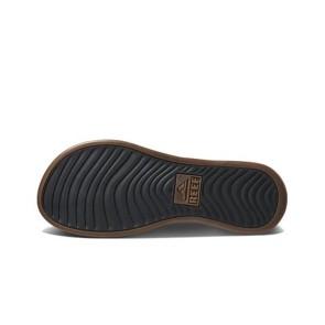 Reef Cushion Lux slippers bruin zwart