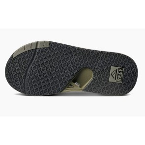 Reef Fanning Low slippers olijfgroen