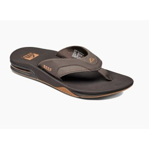 Reef Fanning slippers gunmetal blue