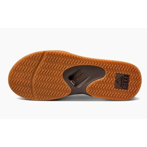 Reef Fanning slippers bruin-gom