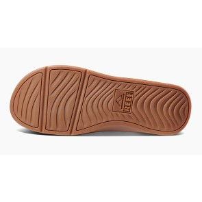 Reef LTHR Ortho coast slippers black-brown