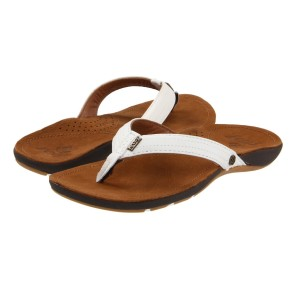 Reef Miss J-bay slipper tan white