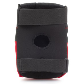 REKD Ramp kniebeschermer pads zwart-rood