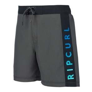 "Rip Curl Semi elasticated Gradiart 18"" boardshort black"