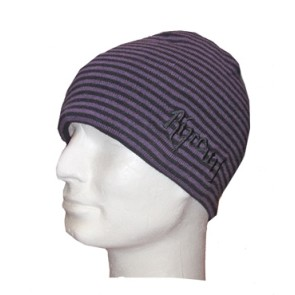 Rip Curl Checky Revo beanie purple black