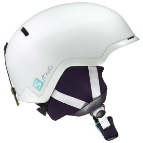 Salomon Shiva women's ski helmet white