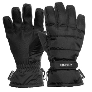 Sinner Vertana gloves black ladies