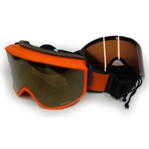Sinner Sin Valley Magnetic goggle black - 2 lenses orange Sintec lens (Cat 2 + 3)
