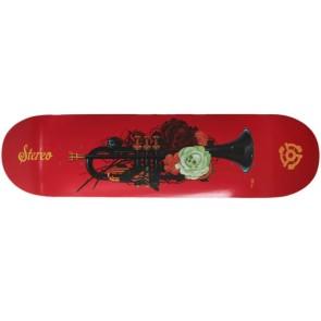 "Stereo Amor Eterno Trumpet skateboard deck 8.25"""