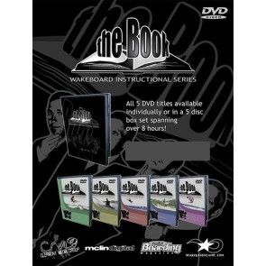 TheBook Wakeboard DVD instr. - 5x DVD box The Book