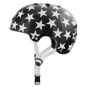 TSG Evolution Stars skatehelm zwart-wit