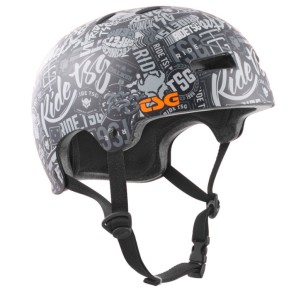 TSG Evolution skate helmet black