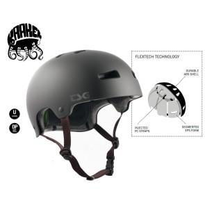 TSG Kraken skate helmet satin black