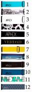 Aphex Kepler goggle straps