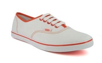 Vans Authentic Lo Pro sneakers white orange