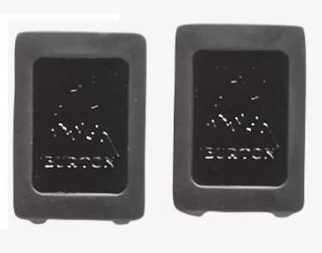 Burton Channel plugs black (2 pcs)