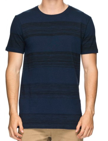 Globe Moonshine T-shirt space dye navy