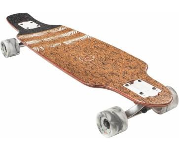 "Globe Spearpoint mini 33.5"" cork agave complete longboard"