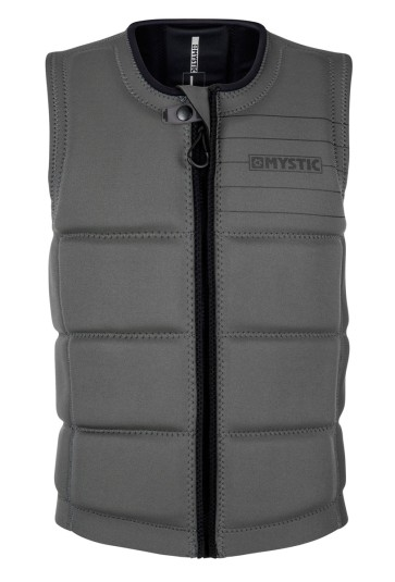 Mystic Star impact vest front zip teal