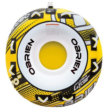 "O'Brien Super Le Tube 70"" towable tube yellow"