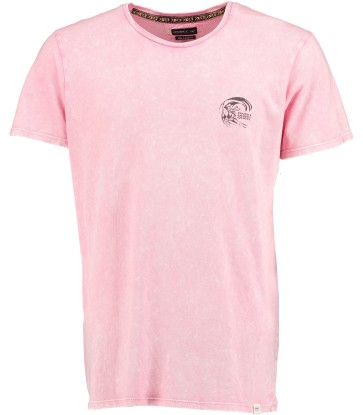 O'Neill Wave cult backdrop T-shirt popstar pink